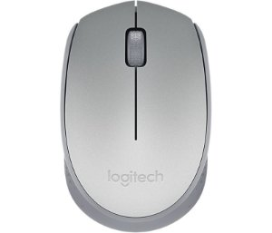 Mouse SEM FIO Logitech Wireless M170 Prata