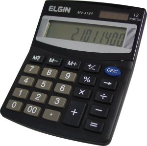 Calculadora de Mesa Elgin MV4124