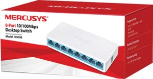 Hub Switch 8 portas 10/100mbps - Mercusys MS108