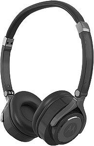 Fone de ouvido Motorola Pulse 2 com microfone - Preto