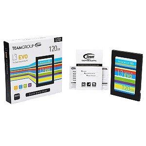 HD SSD 120gb Sata III Team Group L3 EVO - T253LE120GTC101