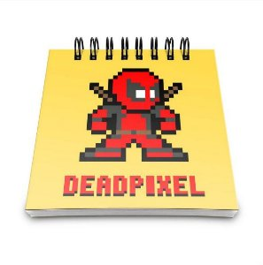 Bloco de anotações Dead Pixel