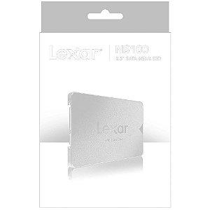 HD SSD 512gb Sata III Lexar NS100 (LNS100-512RBNA)