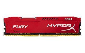 Memória Kingston HyperX 8GB DDR4 3200Mhz HX432C18FR2/8 Red
