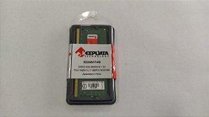 Memória para notebook 4b Ddr4 2400MHZ Keepdata KD24S17/4G