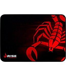 Mousepad Rise Gaming SCORPION Vermelho - RG-MP-04-SR