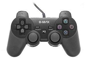 Controle PS3 com fio B-MAX - BM1206