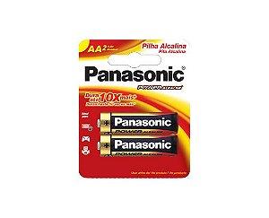 Pilha Alcalina Panasonic AA LR06