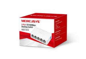Hub Switch 5 portas 10/100mbps - Mercusys MS105