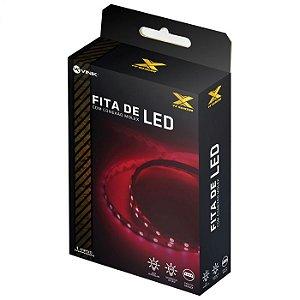 Fita de Led Vermelho Conexão Molex 60 leds VX Gaming - LVM1