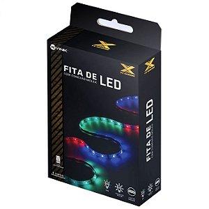 Fita de Led RGB com Controlador Conexão Molex 60 leds  VX Gaming -  LRM1
