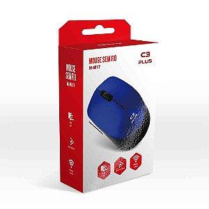 Mouse Sem Fio C3TECH M-W17BL Azul