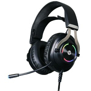Headset Gamer USB - HP H360GS 7.1 Preto