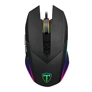 Mouse Gamer T-Dagger Lieutenant RGB 7 Botões 8000DPI T-TGM301