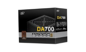 Fonte ATX 700W 80 Plus Bronze Deepcoll DA700 - DP-BZ-DA700N