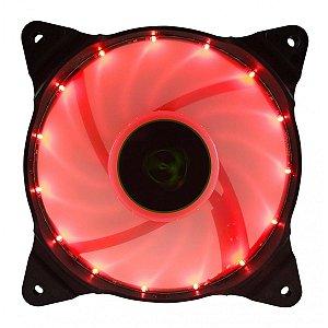 Cooler Gabinete T-Dagger 120x25mm Led Vermelho T-TGF300-R
