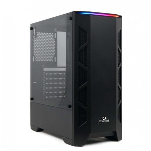 Gabinete MidTower Redragon Starscream GC-610B Preto