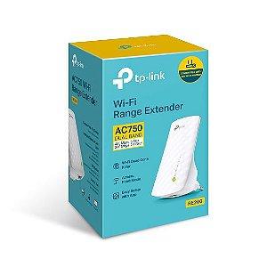 Repetidor de sinal Wi-Fi AC750 Tp-Link RE200