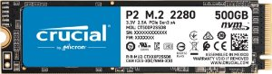 Hd SSD 500gb M.2 Nvme 2280 Crucial - CT500P2SSD8