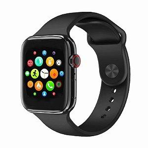 Relógio Smartwatch Iwo U78 Plus - Preto
