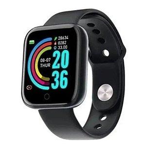 Relógio Smartwatch D20 - Preto