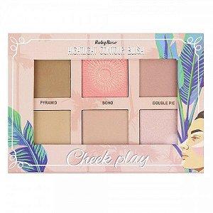 Paleta Cheek Play - Hightlight Contour Blush