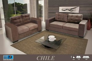 Sofá Nc Chile 3x2 lugares tec 123