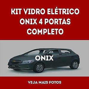 Kit Vidro Eletrico Onix 4 Portas Completo
