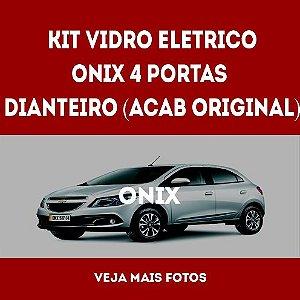 Kit Vidro Eletrico Onix 4 Portas Dianteiro Acabamento Original