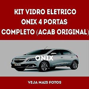 Kit Vidro Eletrico Onix - original 4 Portas Completo