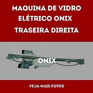 Maquina De Vidro Elétrico Onix Traseiro Direito 2012 Em Diante