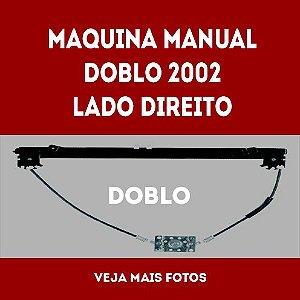 Maquina Manual Doblo 2002 Lado Direito