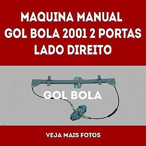 Maquina Manual Gol Bola 2001 2 Portas Lado Direito