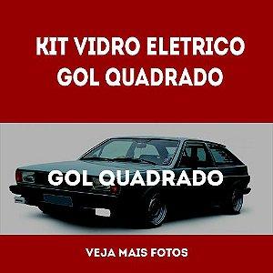 Kit Vidro Eletrico Gol Quadrado