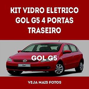 Kit Vidro Eletrico Gol G5 4 Portas Traseiro