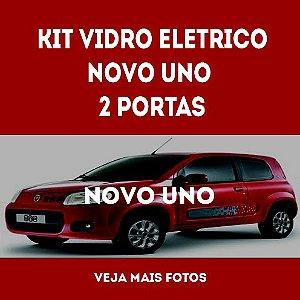 Kit Vidro Eletrico Novo uno 2 Portas