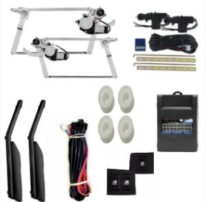 Kit Vidro Elétrico Ford Escort Hobby + Trava Completo