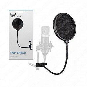 Pop Shield Protetor Anti Ruido p/ Microfone (M-061) FS