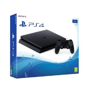 PLAYSTATION 4 SLIM 1TERA PRETO