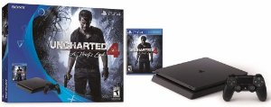PLAYSTATION 4 500 GB SLIM + JOGO UNCHARTED 4