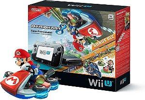 Nintendo Wii U 32GB Black + Mario Kart 8