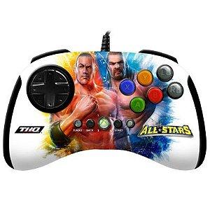 CONTROLE X BOX 360 ARCADE WWE ALL STARS