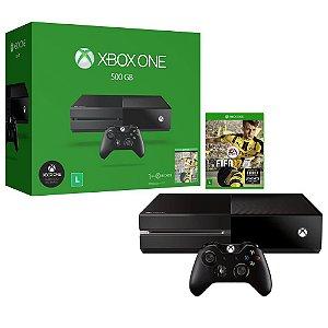 Xbox One 1 tera  + Jogo fifa 17