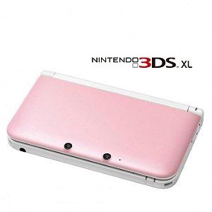 NINTENDO 3DS ROSA SEMI-NOVO DESBLOQUEADO