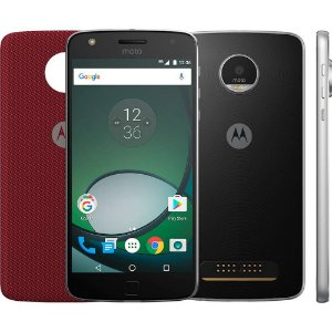 "Smartphone Moto Z Play Dual Chip Android 6.0 Tela 5.5"" 32GB Câmera 16MP - Preto"