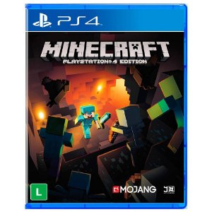 PLAYSTATION 4 MINECRAFT  4 EDITION