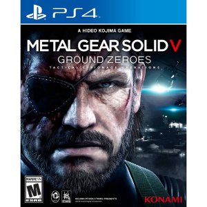 PLAYSTATION 4 JOGO METAL GEAR  SOLID V