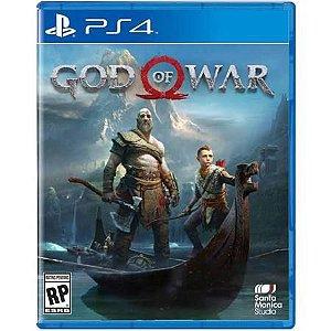 PLAYSTATION 4 JOGO GOD OF WAR 4