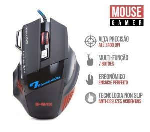 MOUSE GAMER B-MAX X7