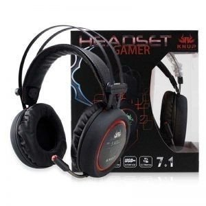 HEADSET GAMER KNUP KP-401